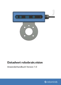 Technical data of robobrain.vision - smart picking system for robots
